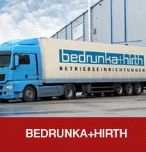 Bedrunka + Hirth Markenwelt mit Produkten, Neuheiten und Innovationen aus dem Bereich der Betriebseinrichtung.
