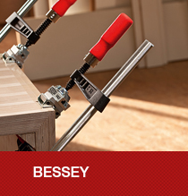 Bessey Markenwelt mit interessanten Infos zum Unternehmen und zu Produkten aus der Spann- und Schneidetechnik