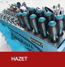 Hazet Markenwelt mit interessanten Details zum Unternehmen sowie deren hochwertigen Werkzeuge und Einrichtungen