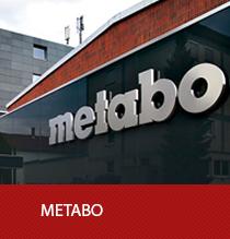 Metabo Markenwelt mit Produkten, Neuheiten und Innovationen aus dem Bereich der Elektrowerkzeuge.