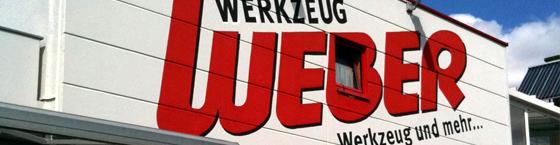 Werkzeug Weber Unternehmensfassade