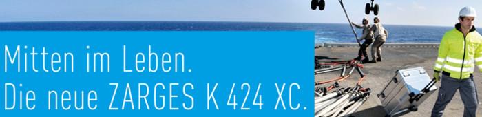 Die neue ZARGES K424 XC - Mobil, stabil, ZARGES.