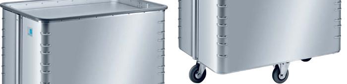 Der Zarges Alu-Kastenwagen für ein ergonomisches Arbeiten.