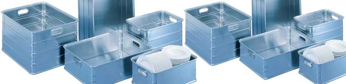 Alu-Transportkästen für eine geschützte Lagerung und sicheren Transport.