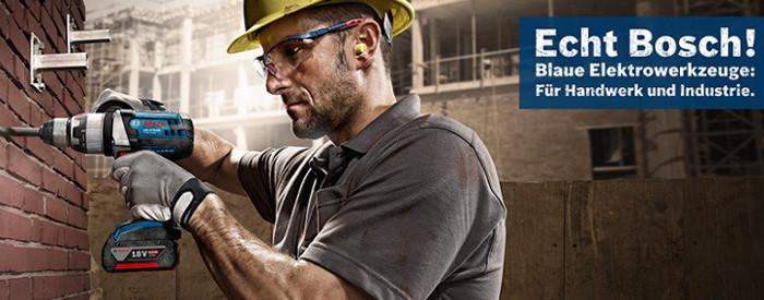 Bosch Elektrowerkzeuge für das Handwerk und die Industrie