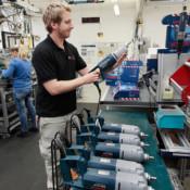 Bosch Powertools legt einen sehr hohen Stellenwert auf Produktion und Endkontrolle