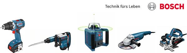Bosch bietet dem professionellen Anwender ein vielfältiges Produktsortiment