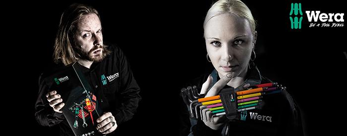 Innovative Qualitätswerkzeuge mit Design von Wera.