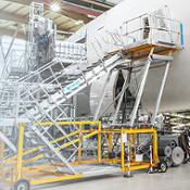 Zarges Speziallösungen, von Turminnenausbauten, Flugzeugtechnik bis zum Sonderbau.