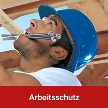 Sortiment aus dem Bereich Arbeitsschutz