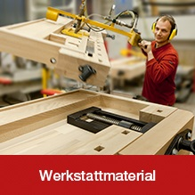 Sortiment Werkstattmaterialien